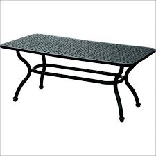 wrought iron coffee table with glass top black wrought iron side table unlockhton info