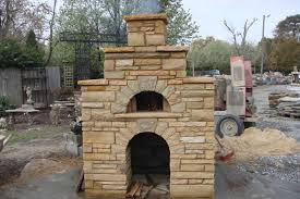 Outdoor Fireplace Accessories - home decor outdoor fireplace pizza oven simple master bedroom