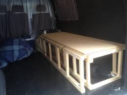 Camper Remodel Ideas by Self Made Wooden Seat Beds Pics Please Page 3 Vw T4 Forum