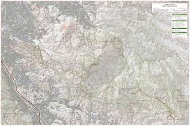 Montana State Map Mount Diablo Trail Map