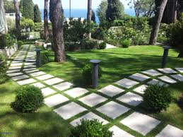 Walkway Ideas For Backyard Backyard Pathway Ideas Dramatic Landscape Design Using