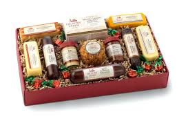 sausage gift baskets sausage gift baskets usingers italian and cheese etsustore