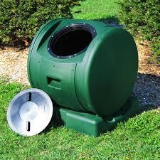 enviro tumbler 49 gallon resin compost tumbler hayneedle