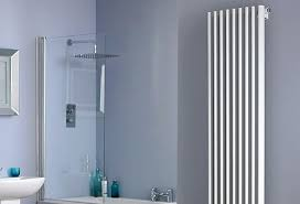 Small Radiators For Bathrooms - large heated towel rail luna heated towel rail large electric