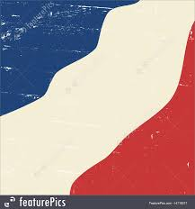 Frwnch Flag Flags Abstract Vintage French Flag Stock Illustration I4116317