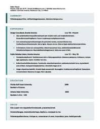 Resume Format Sample Download by Free Resume Templates You U0027ll Want To Have In 2017 Downloadable