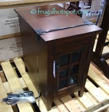 broyhill end table with usb costco broyhill chairside table 124 99 frugal hotspot