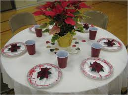 simple table decorations for christmas party stunning christmas banquet table centerpieces and best 25 hurricane