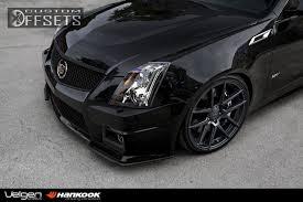 white cadillac cts black rims wheel offset 2012 cadillac cts v flush dropped 1 3 custom rims