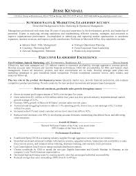 Free Sales Resume Template Sales And Marketing Resumes Samples Sioncoltd Com