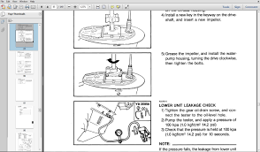wiring diagram evinrude service manuals wiring free image about