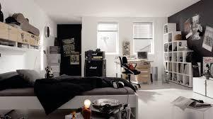 chambre fille noir et blanc chambre d ado stylée 30 idées de déco unisexe pour filles ou pour gars