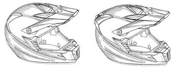 patent usd549883 motocross helmet google patents