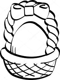 easter egg basket clip art u2014 stock vector clipartguy 17826961