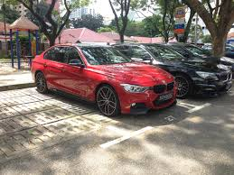 red bmw 328i red m performance and rims bmw f30 pinterest bmw and cars