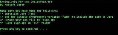 sign apk coolest tech sign apk files easily using csigner no more