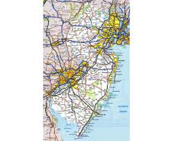 Delaware Map Usa by Maps Of New Jersey State Collection Of Detailed Maps Of New