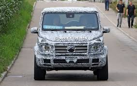 mercedes g wagon green 2019 mercedes amg g class spotted with production lights