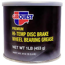 carquest grease and lube hi temp disc brake wheel bearing grease