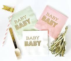 baby shower napkins set of 25