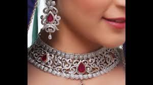 white stone necklace sets images Indian bridal jewellery cz item white stone sets sets jpg
