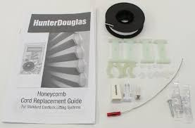 Hunter Douglas Blind Pulls Hunter Douglas 0 9mm Shade Cord Replacement Kit For Duette And