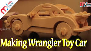 kids making wrangler toy car kid toys cars woodcraft