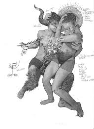 epic ink drawings marry ancient sculpture modern dance creators