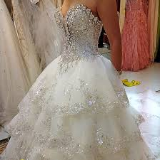 bling wedding dresses princess wedding dresses with bling dresses trend
