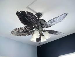 palm tree ceiling fan palm ceiling fan blades palm leaf ceiling fan blade covers home