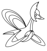pokemon coloring pages lugia lugia coloring page free printable coloring pages