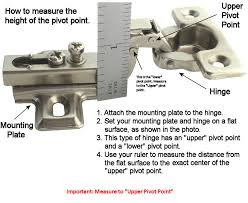 How To Measure Cabinets 40 Mm Medicine Cabinet Hinge Hardwaresource Com