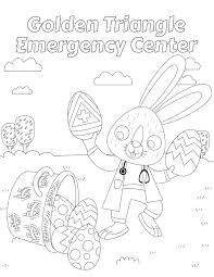 2017 easter coloring contest at golden triangle emergency center