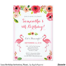2nd Birthday Invitation Card Luau Birthday Invitation Invitation Cards Pinterest Luau