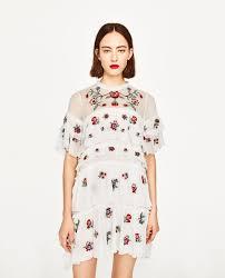 embroidered mini dress clothes pinterest mini dresses minis