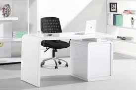 White Office Desks Beautiful Courbe 1 4m White High Gloss Desk For The Office