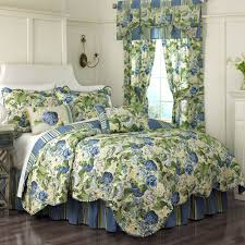 floral flourish reversible quilt set by waverly