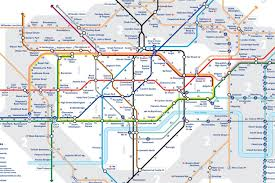 Map Of London England by Tfl Has Released The First Official U0027walk The Tube U0027 Map For London