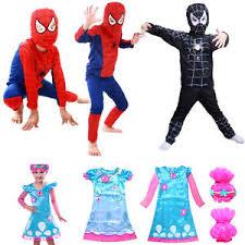 Spiderman Halloween Costumes Kids Kid Spiderman Fancy Dress Costume Troll Poppy Troll Doll Party