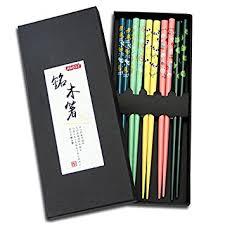 amazon com chopsticks u0026 chopstick amazon com chopsticks aoosy 5 pairs japanese natural wood