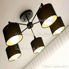 3 Bulb Ceiling Light Fixture Best Modern Ceiling Lights Fixture Semi Flush Mount Type Black