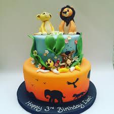 lion king cake etoile bakery