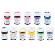 Amazon Com Wilton 12 Icing Color Set Includes 12 Large 1 Ounce