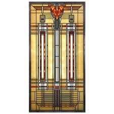 Frank Lloyd Wright Home Decor Bradley House Frank Lloyd Wright Art Glass Stained Glass Art