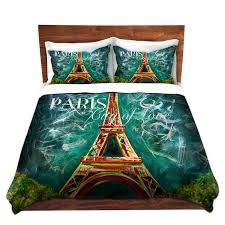 total fab paris u0026 eiffel tower themed bedding for less