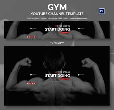 youtube banner template 50 free psd format download free