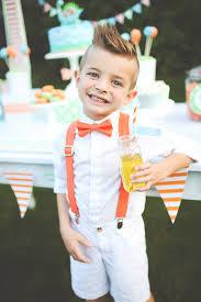 orange polka dot bow tie suspenders boys suspenders and bow