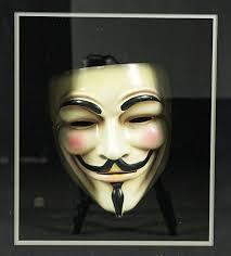 V For Vendetta Mask V For Vendetta Org My Screen Used Mask