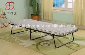 Folding Single Bed Best Selling Cheap Military Hospital Hotel Extra Rollaway