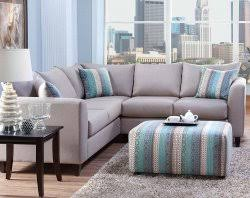 light gray blue two piece couch urban safari 2 pc sectional sofa